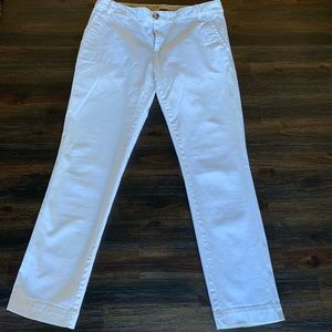 Banana Republic City Chino White size 2